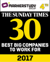 Sunday Times 30 Best Big Companies to Work for 2017